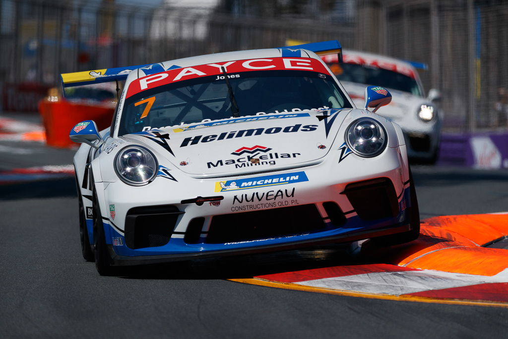 Harri Jones with McElrea Racing in the Porsche Carrera Cup at Surfers Paradise