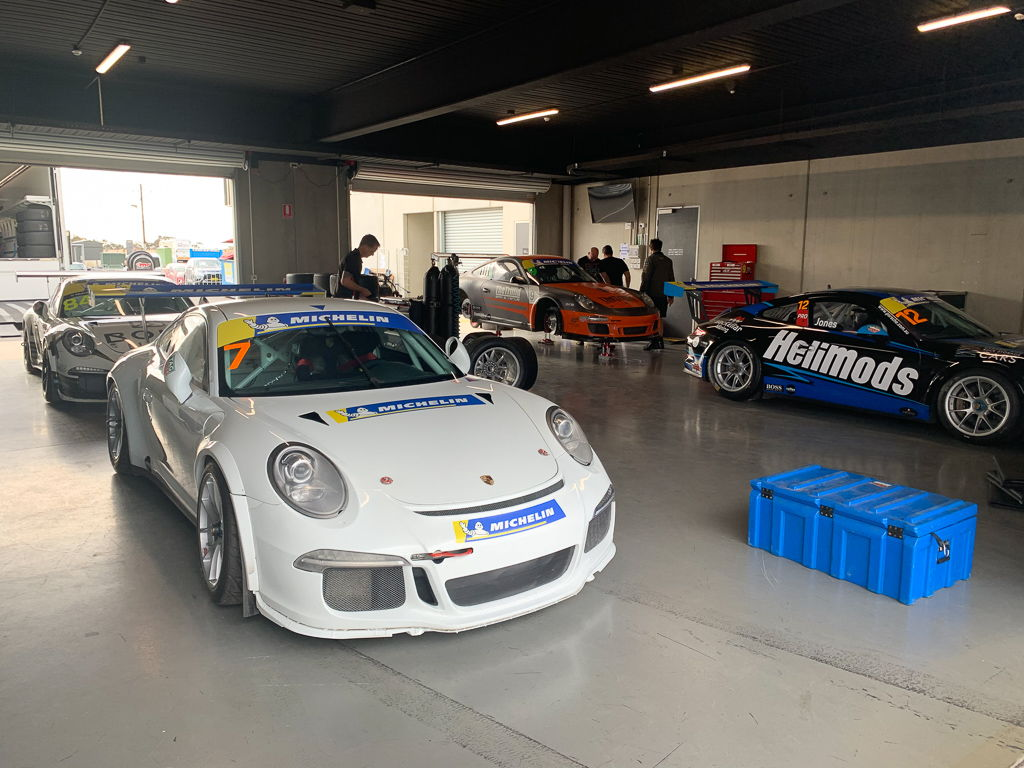 McElrea Racing at Tailem Bend for round 6 of the Porsche GT3 Cup Challenge 2019
