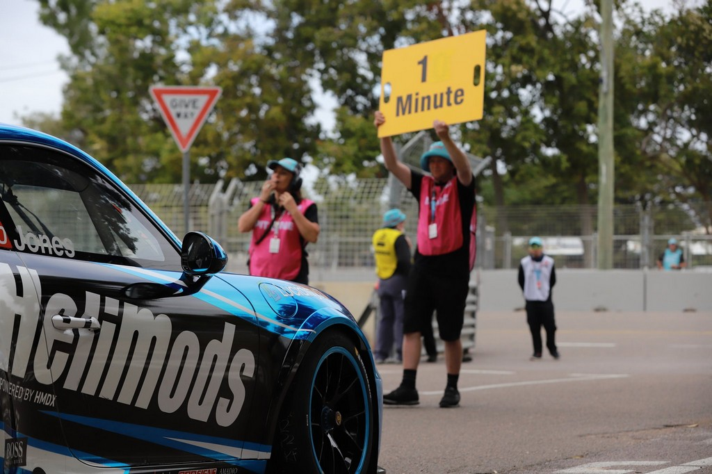 Harri Jones can't wait to get started at the Tin Tops Event in Townsville