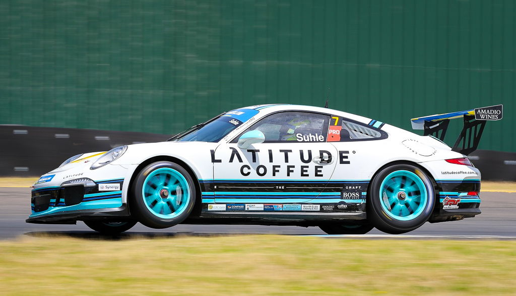 Ryan Suhle with McElrea Racing at the Porsche Festival Sandown 2020
