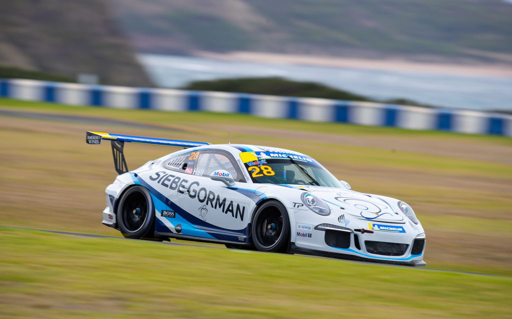 Bayley Hall with McElrea Racing in the Michelin Sprint Challenge Round 1 at Phillip Island 2021