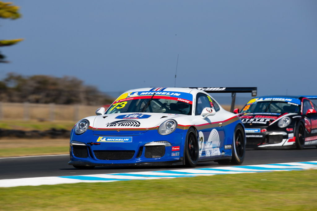 Michael Hovey with McElrea Racing in the Michelin Sprint Challenge Round 1 at Phillip Island 2021