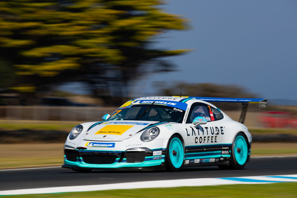 Ryan Suhle with McElrea Racing in the Michelin Sprint Challenge Round 1 at Phillip Island 2021