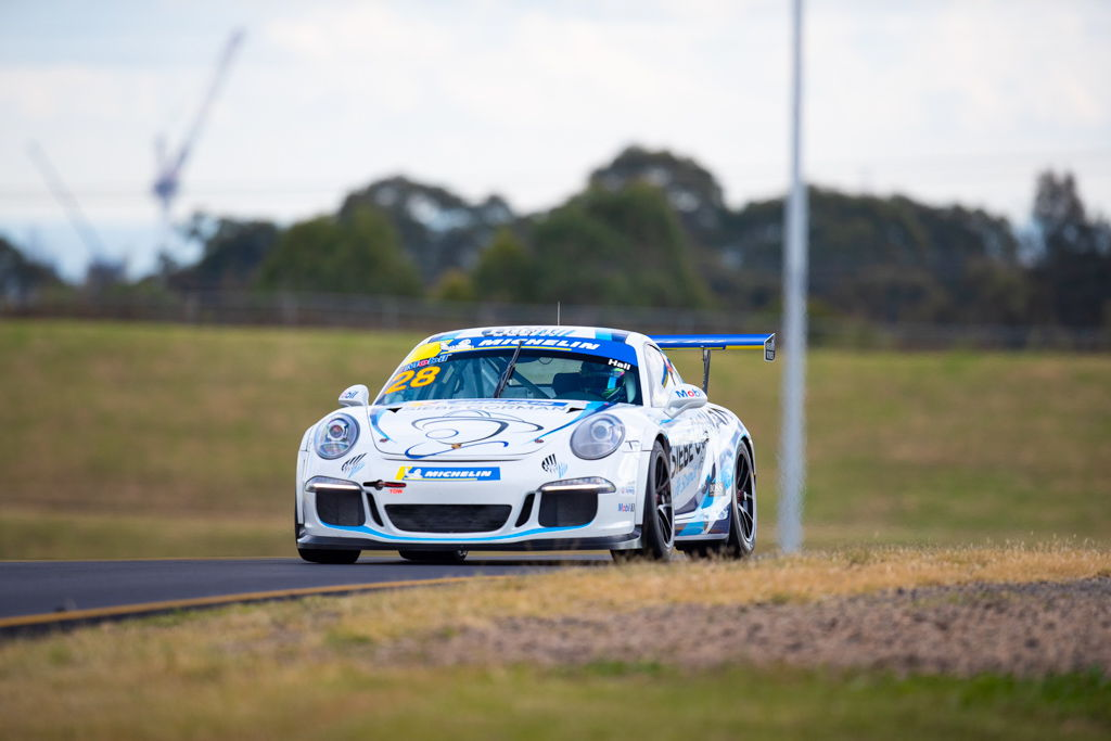 Bayley Hall with McElrea Racing at the Michelin Sprint Challenge Round 2 at Sydney Motorsport Park 2021
