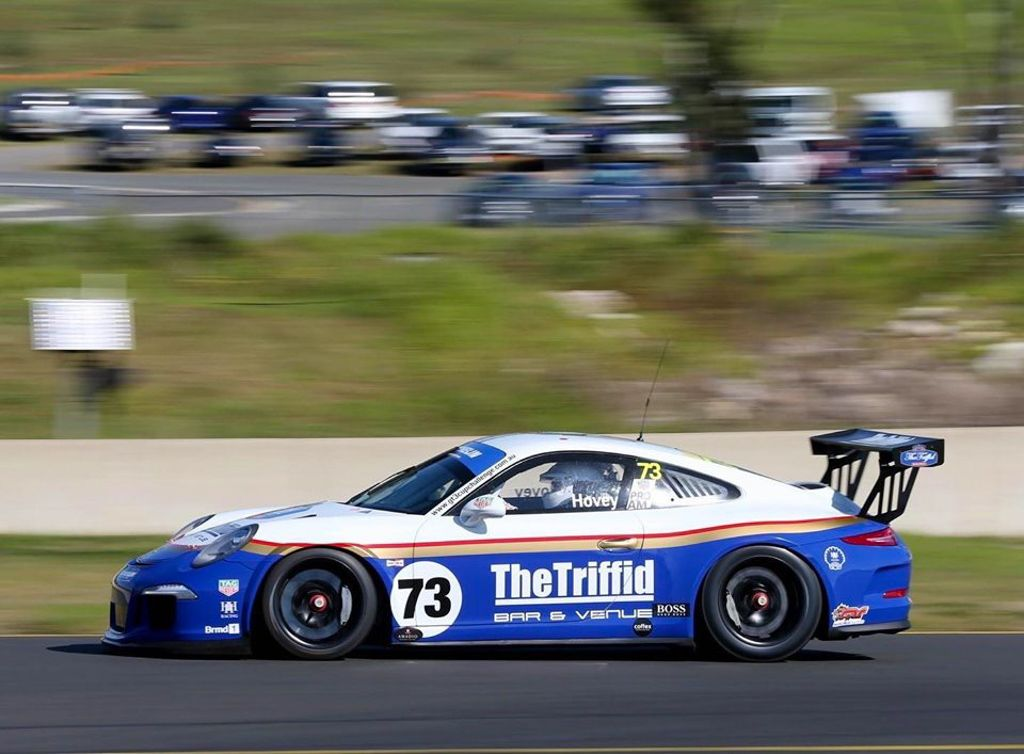 Michael Hovey with McElrea Racing at the Michelin Sprint Challenge Round 2 at Sydney Motorsport Park 2021