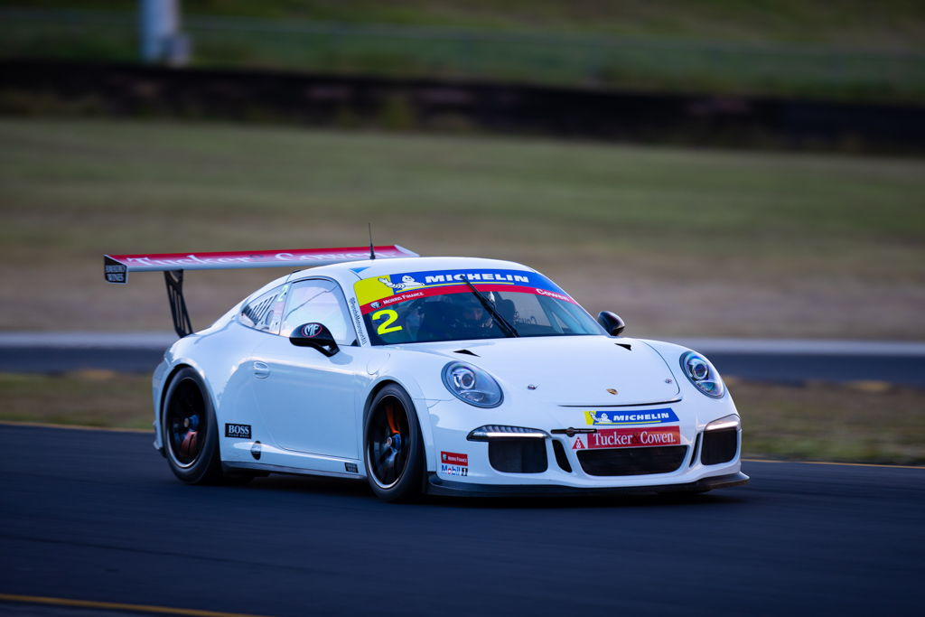 Richard Cowen with McElrea Racing at the Michelin Sprint Challenge Round 2 at Sydney Motorsport Park 2021