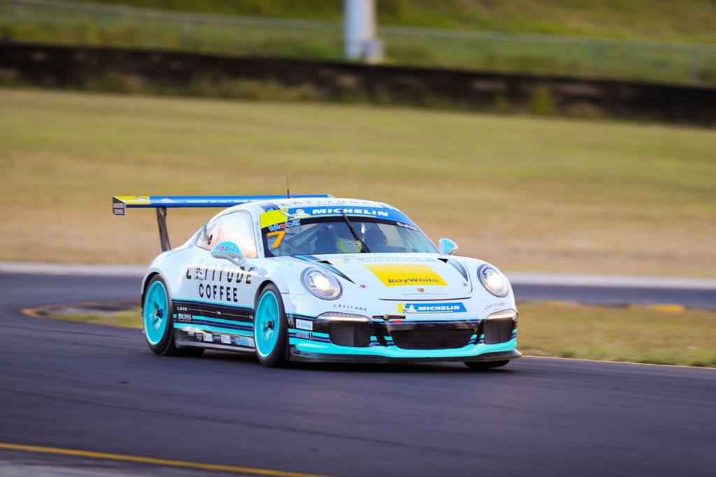 Ryan Suhle with McElrea Racing at the Michelin Sprint Challenge Round 2 at Sydney Motorsport Park 2021