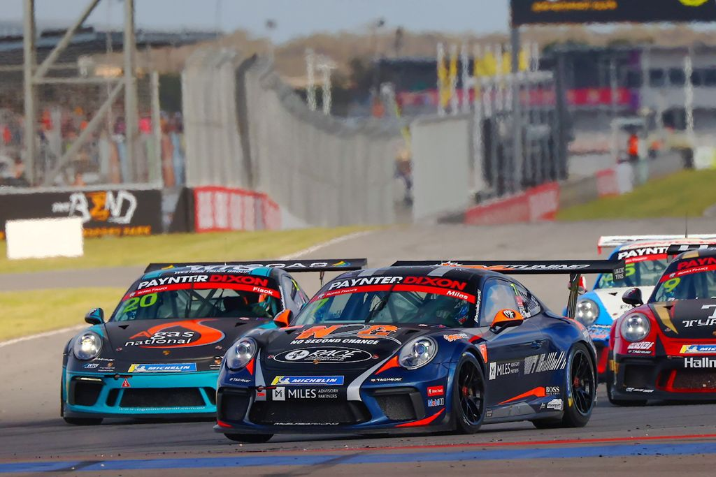 Tim Miles with McElrea Racing in the Porsche Carrera Cup at The Bend 2021