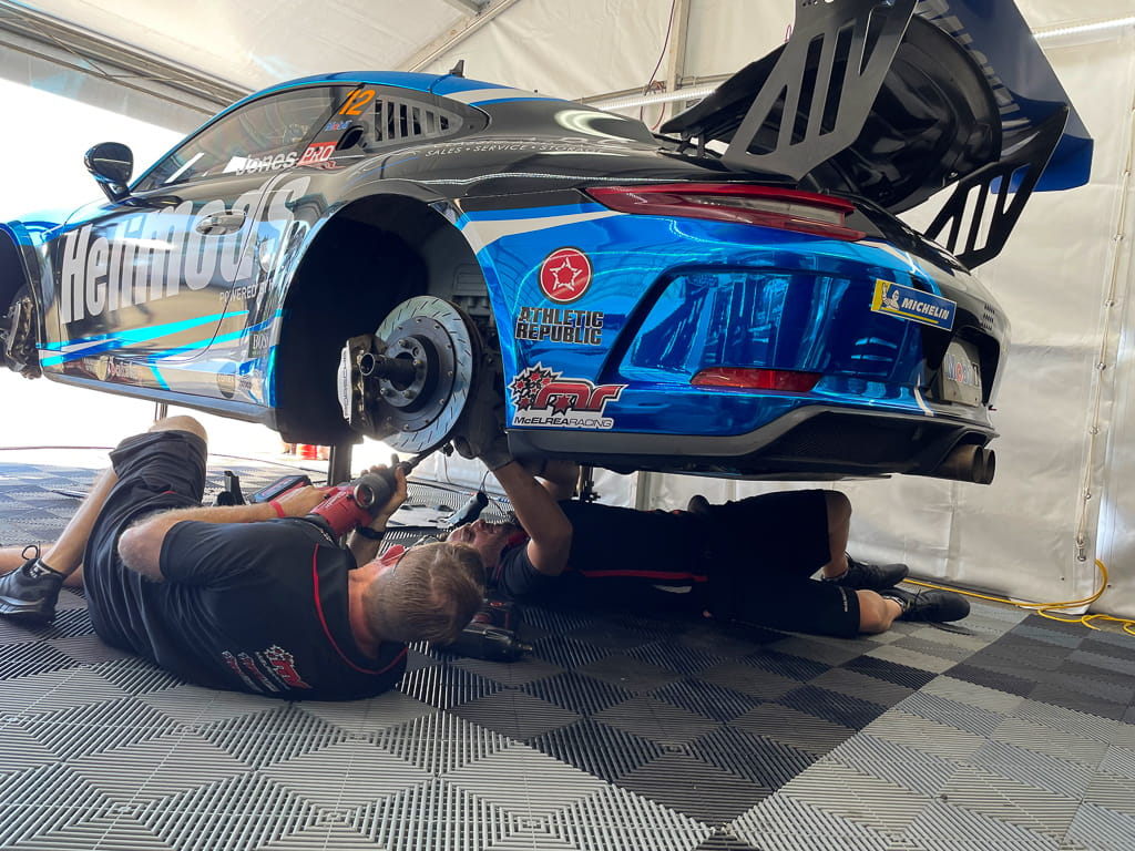 McElrea Racing in the Porsche Carrera Cup at Townsville 2021